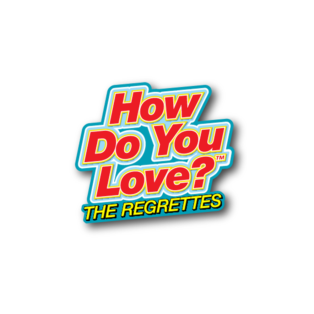 How Do You Love? Enamel Pin Set The Regrettes