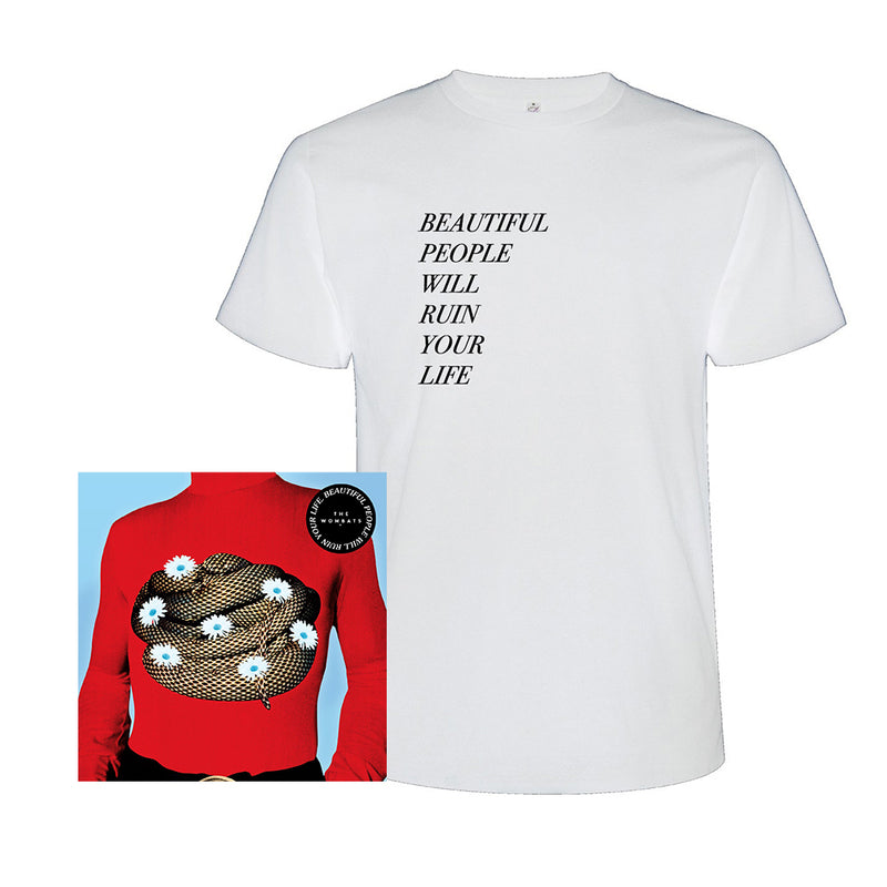 Beautiful People Will Ruin Your Life (CD + White T-Shirt)