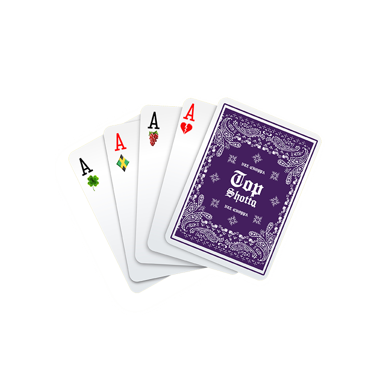 Top Shotta Playing Cards + Digital Download
