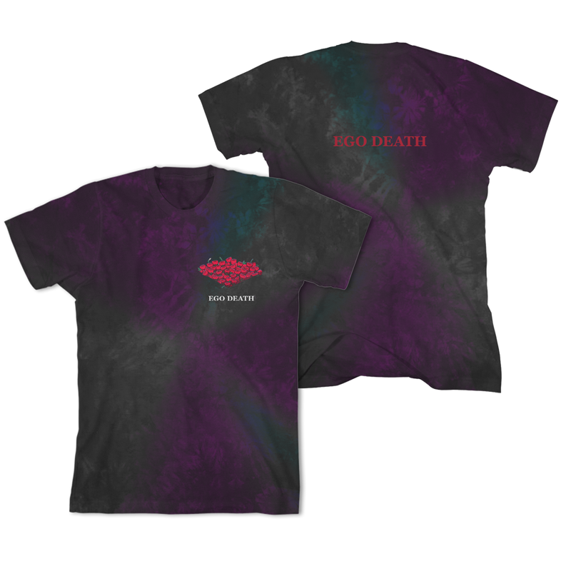 Ego Death Acid Wash T-shirt