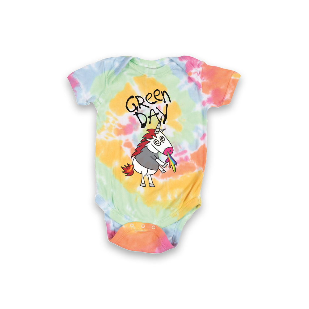 Unicorn Tie Dye Onesie + Digital Album