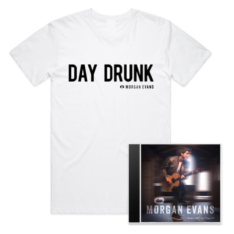 Things That We Drink To (CD + T-Shirt) with signed card (Limited Qty)