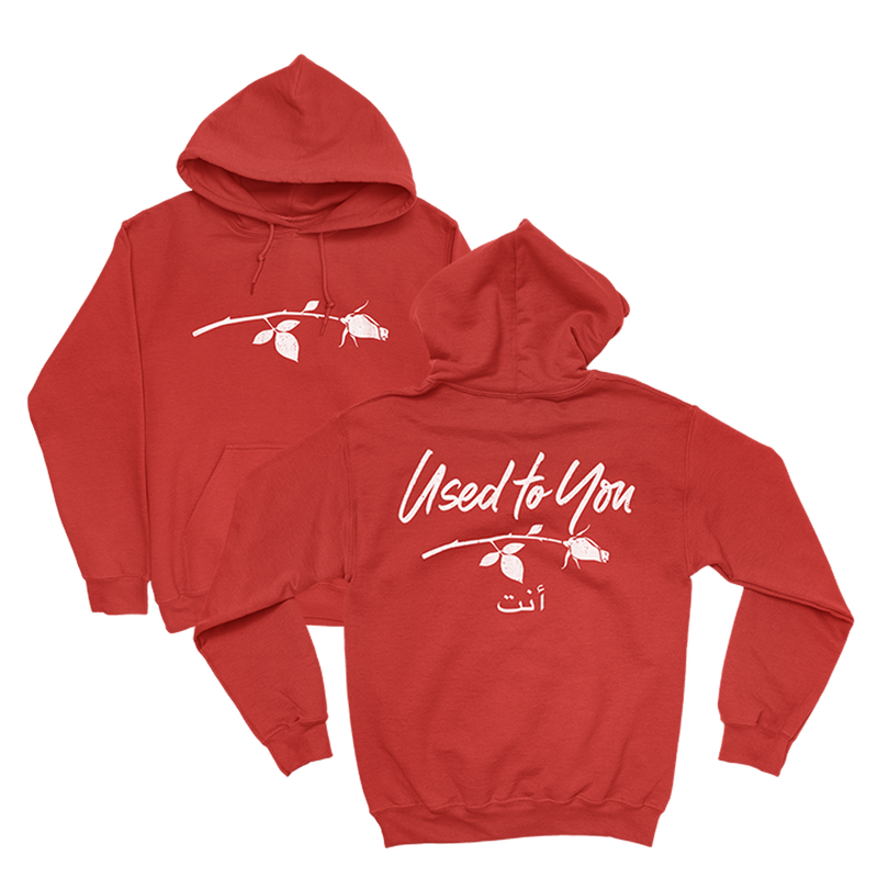 Used to You Red Hoodie + YOU  Digital EP