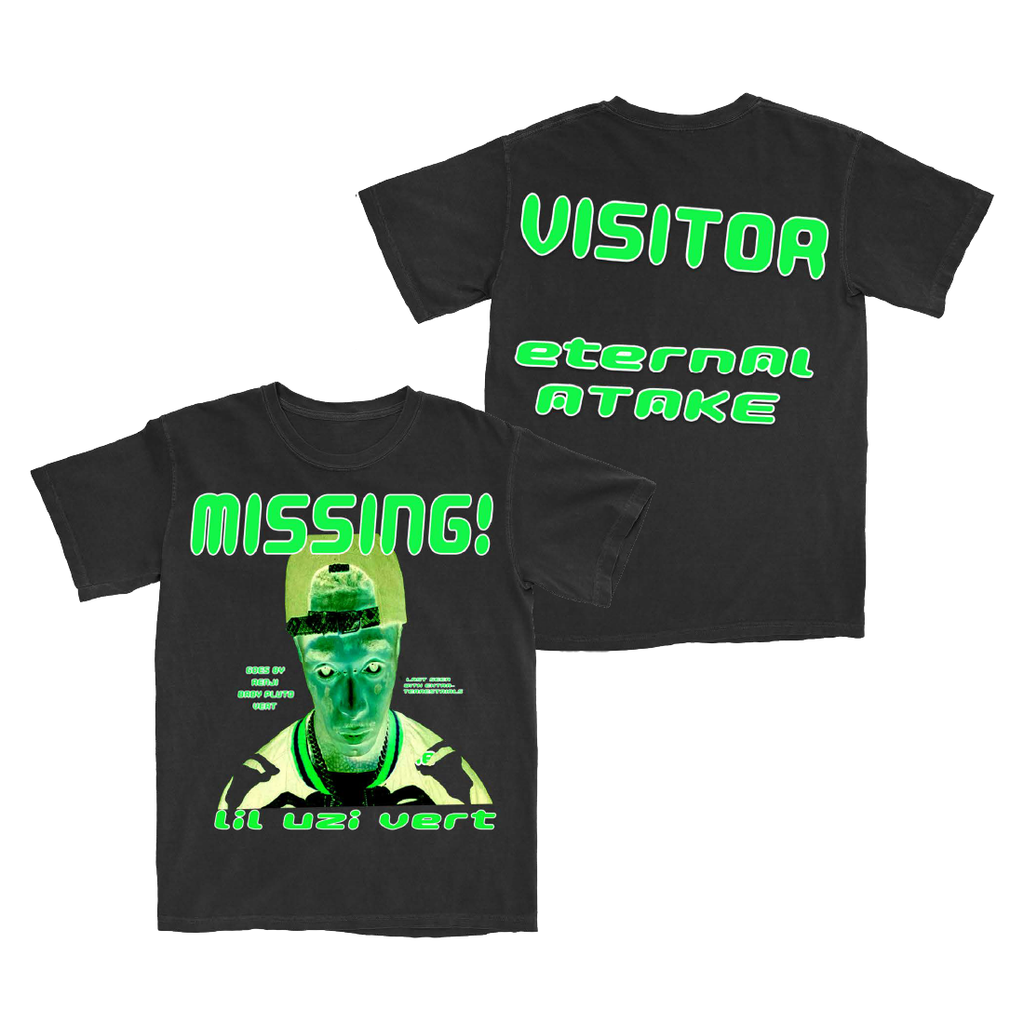 Eternal Atake Glow In The Dark Missing Tshirt + Deluxe Digital Album