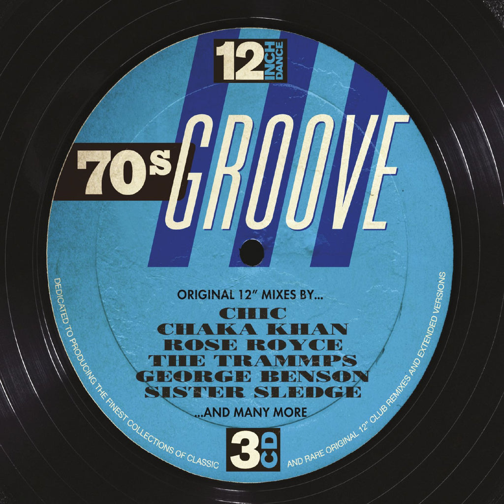 12 Inch Dance: 70s Groove (3CD)