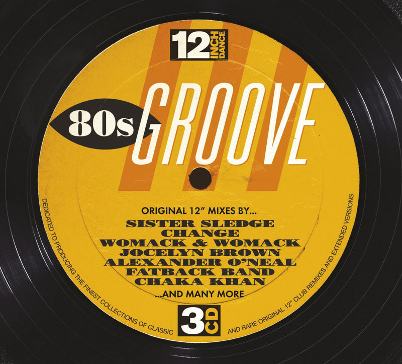 12 Inch Dance: 80s Groove (3CD)