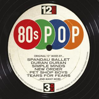 12 Inch Dance: 80s Pop (3CD)