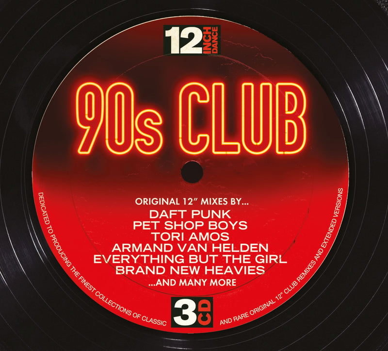 12 Inch Dance: 90s Club (3CD)