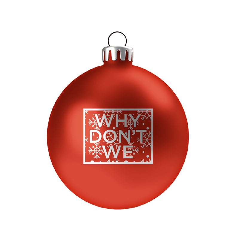 Holiday Ornament (Red)