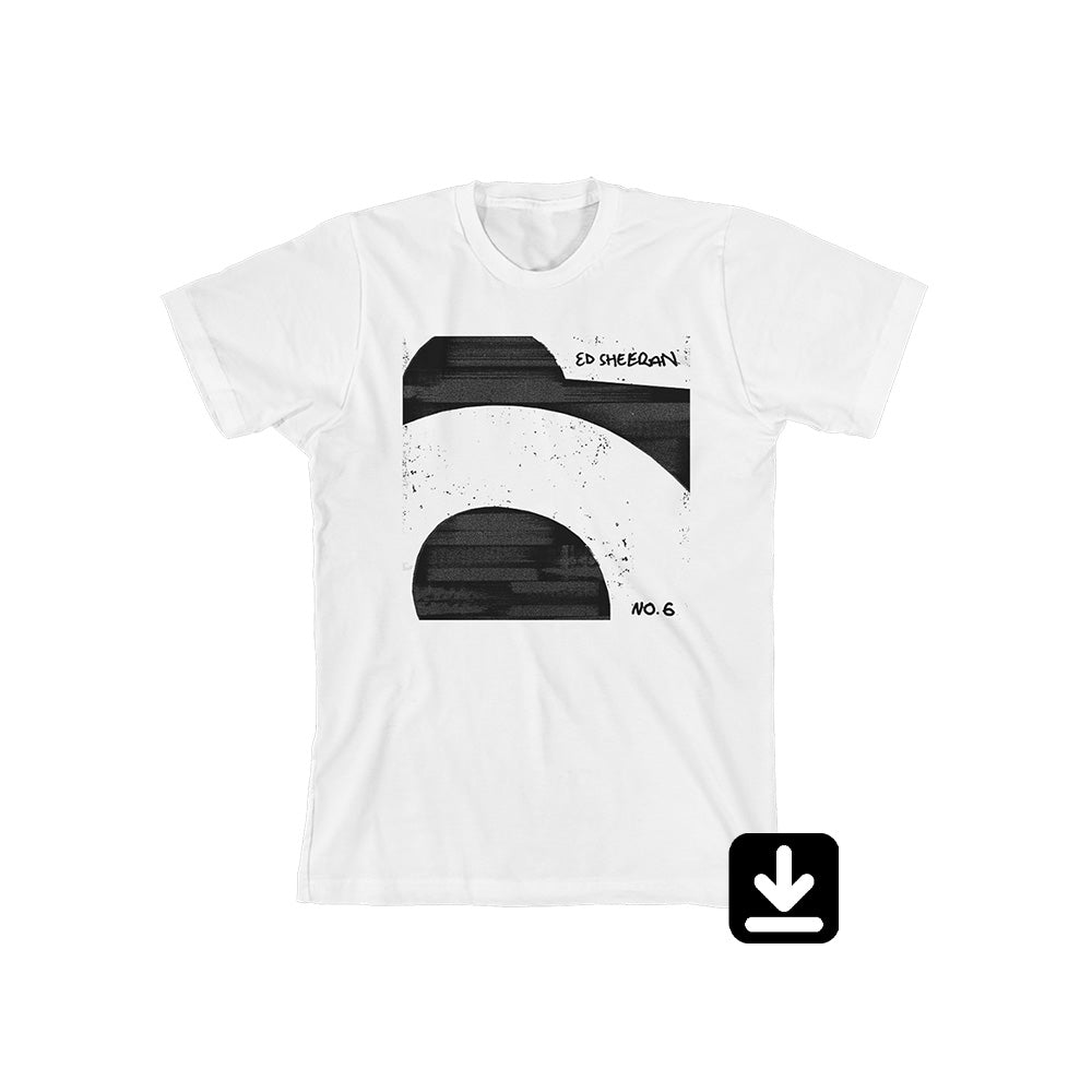 No.6 Collaborations Project White T-Shirt with Digital Download