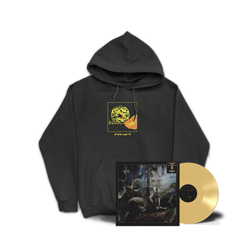 Whole World Sweatshirt + FEET OF CLAY Vinyl LP