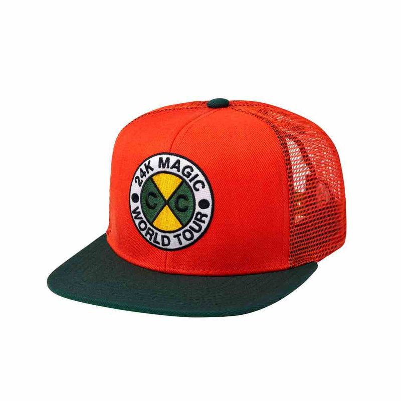 24K CxC Trucker Cap (Orange)