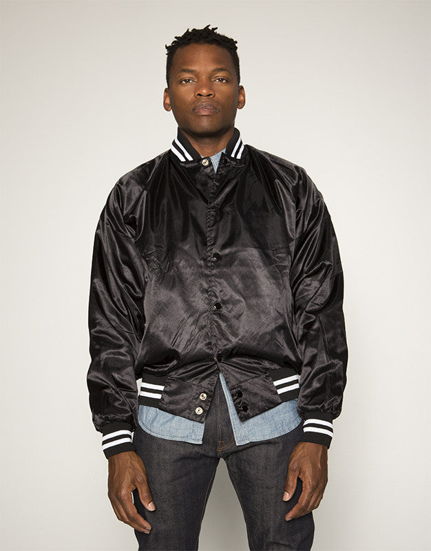 Love You To Death (Satin Baseball Bomber Jacket)