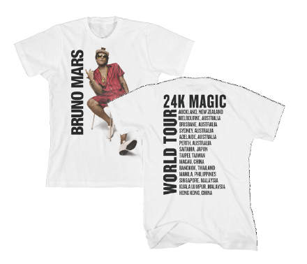 24K Magic Tour T-Shirt