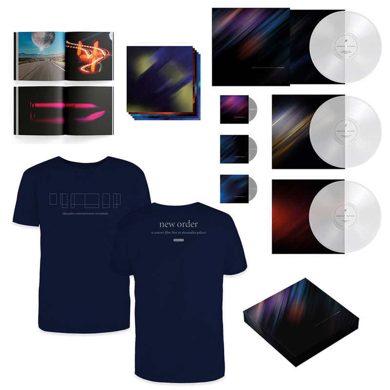 education entertainment recreation Super Deluxe Box + T-Shirt