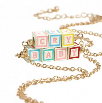 Crybaby Blocks Necklace