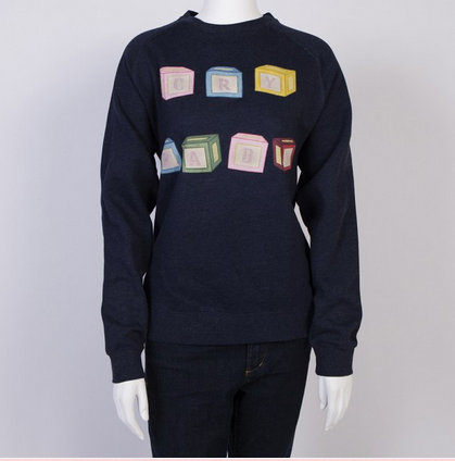 Cry Baby Blocks - Crewneck