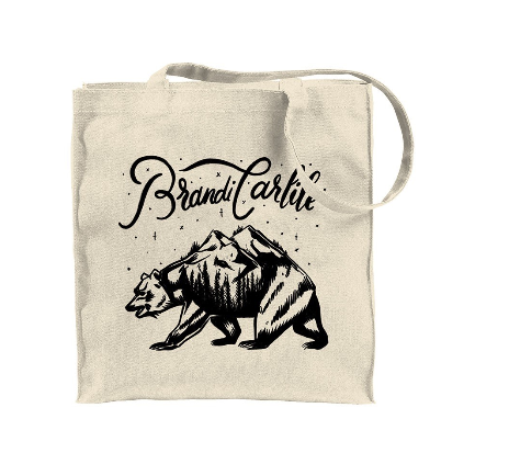 Mountain Bear Tote Bag