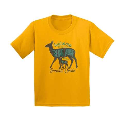 Deer and Fawn T-shirt (Kids)