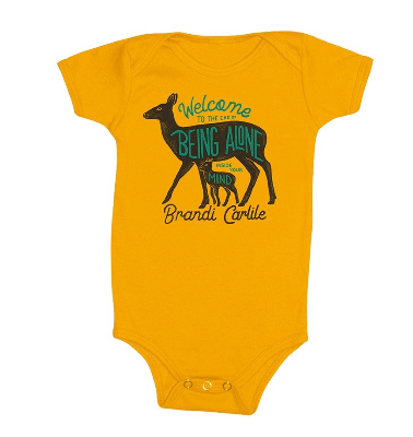 Deer and Fawn Onesie