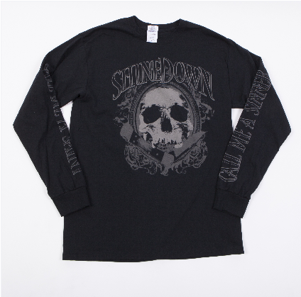 Pocket Knife Skull Long Sleeve