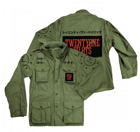TOP Army Jacket
