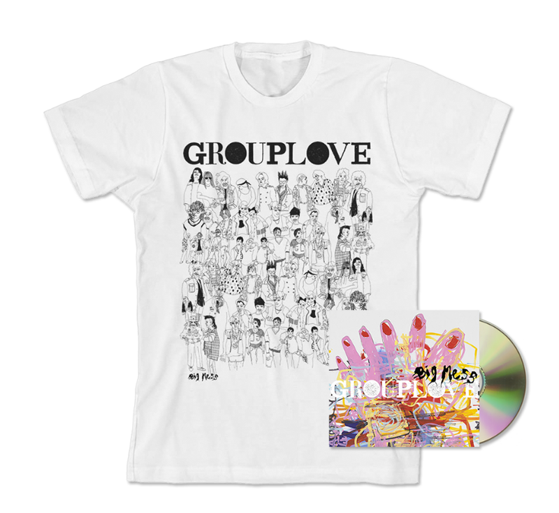 Big Mess (CD + T-shirt) with limited signed insert