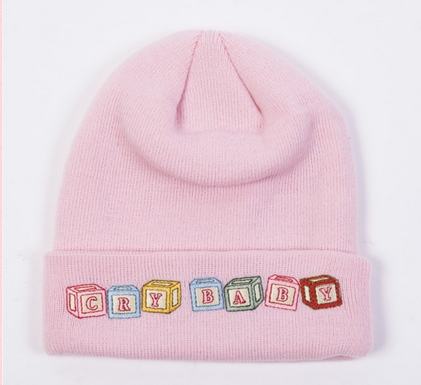 Cry Baby (Pink Beanie)