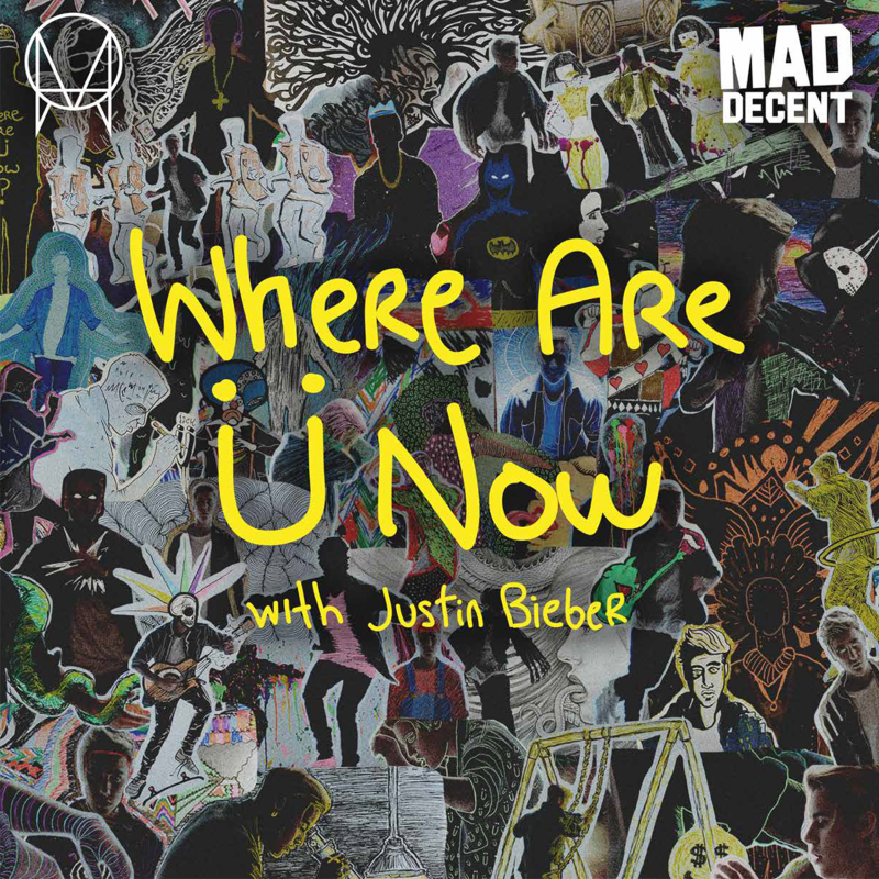 Where Are Ü Now (with Justin Bieber) (Vinyl)