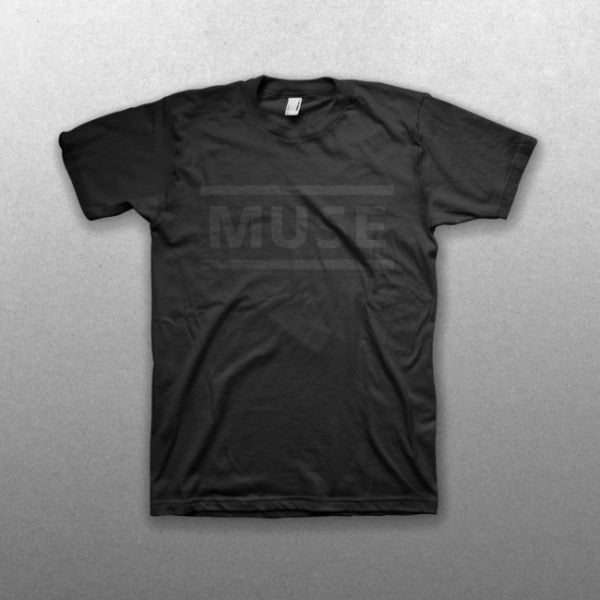 All Black Clean Logo T-Shirt