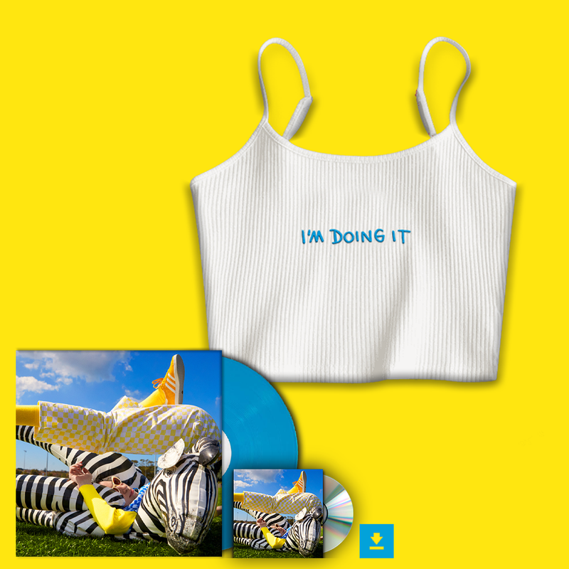 I'M DOING IT + Cropped Singlet Bundle