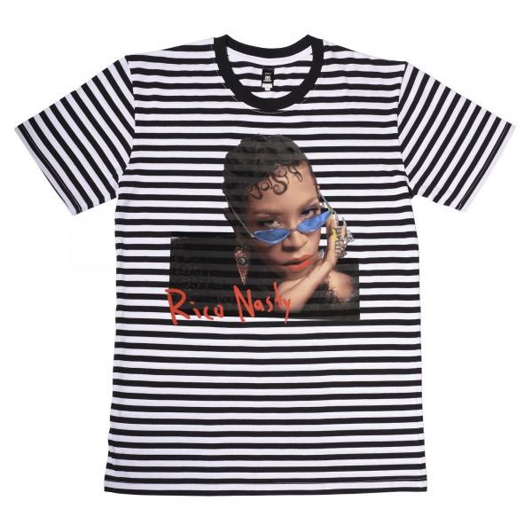 Blue Shades Striped T-Shirt