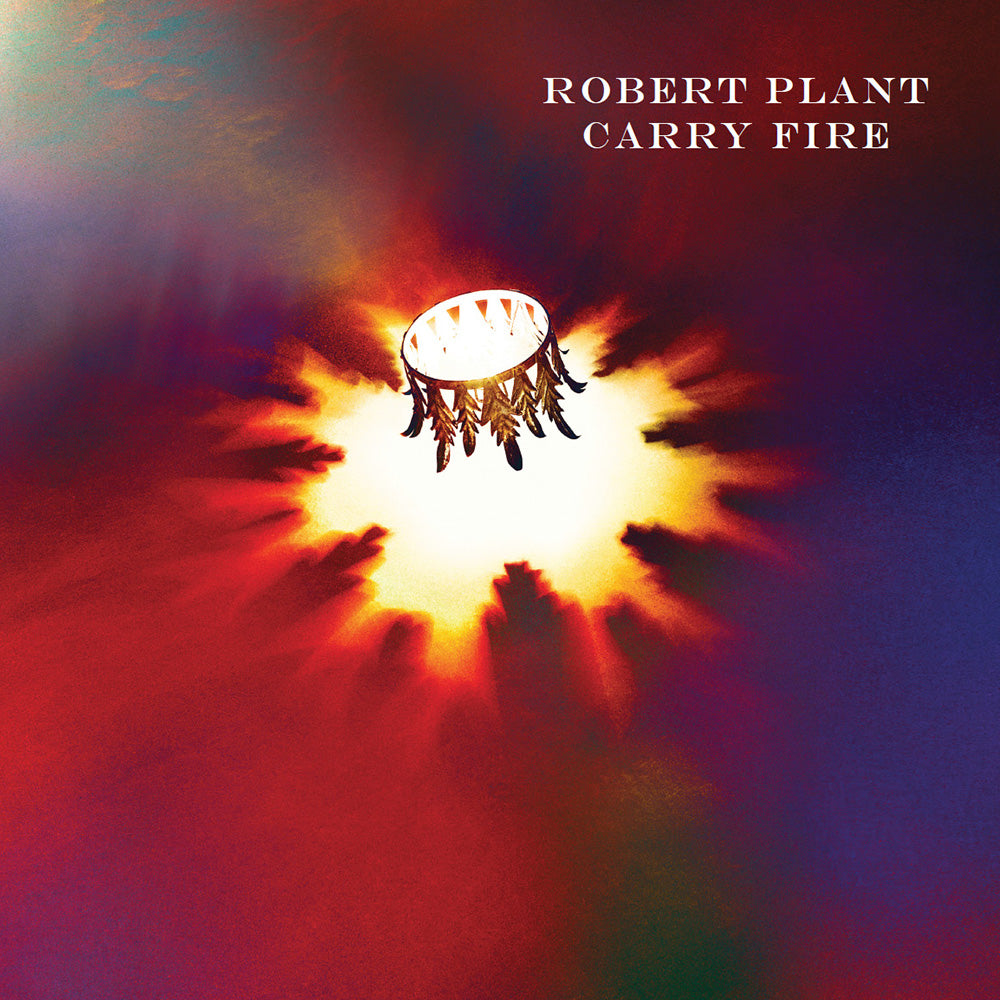 Robert Plant Carry Fire Vinyl With Print Warner Music Australia Store