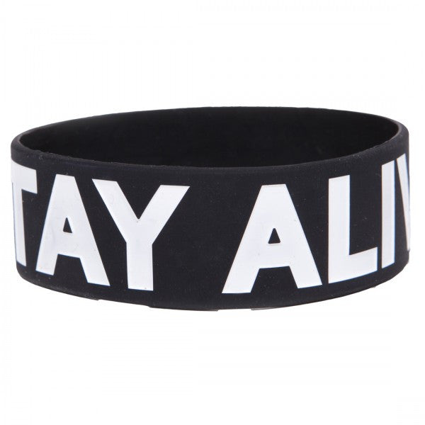Stay Alive Wristband