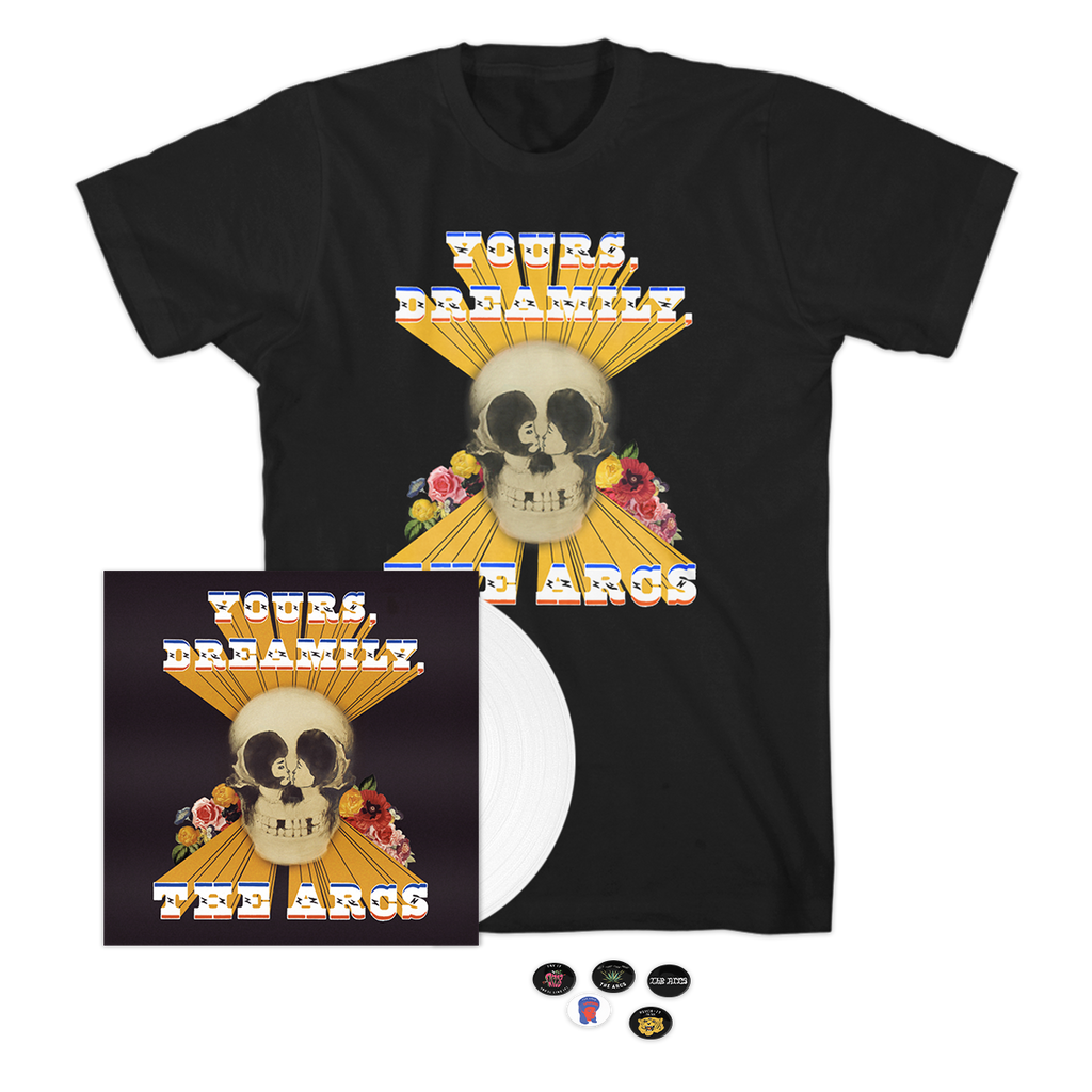 Yours Dreamily (CD/T-shirt + Buttons Bundle)