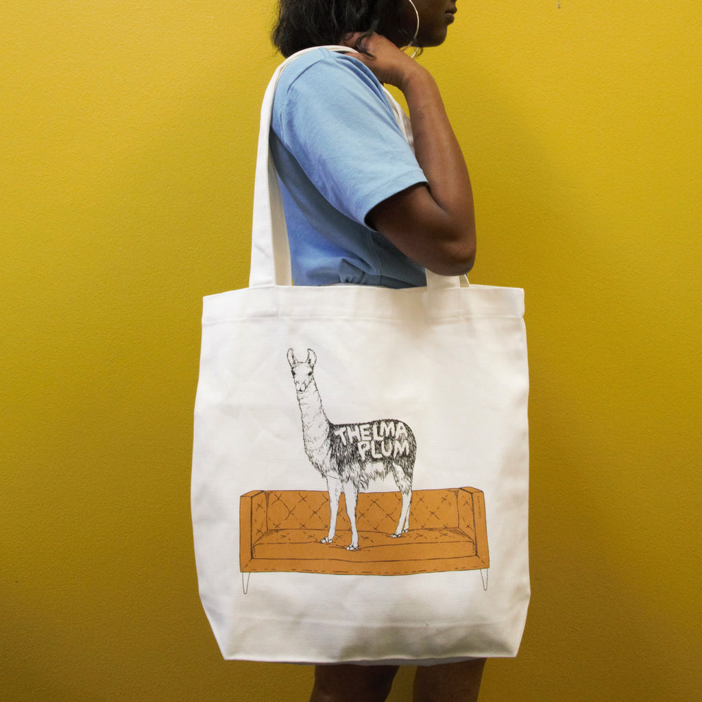 Get Your Hooves Off The Couch Tote Bag