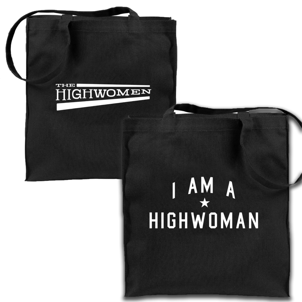 Highwomen Canvas Tote Bag (Black)