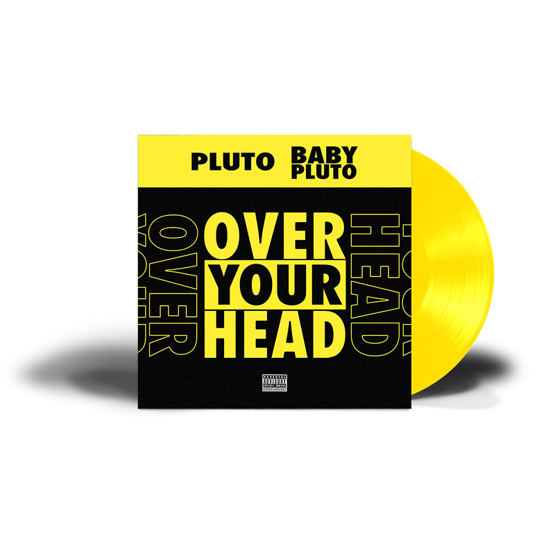 "Over Your Head 12"" Yellow Vinyl"