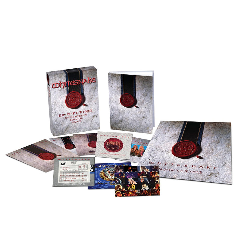 Slip Of The Tongue (30th Anniversary Edition) (6CD + DVD)