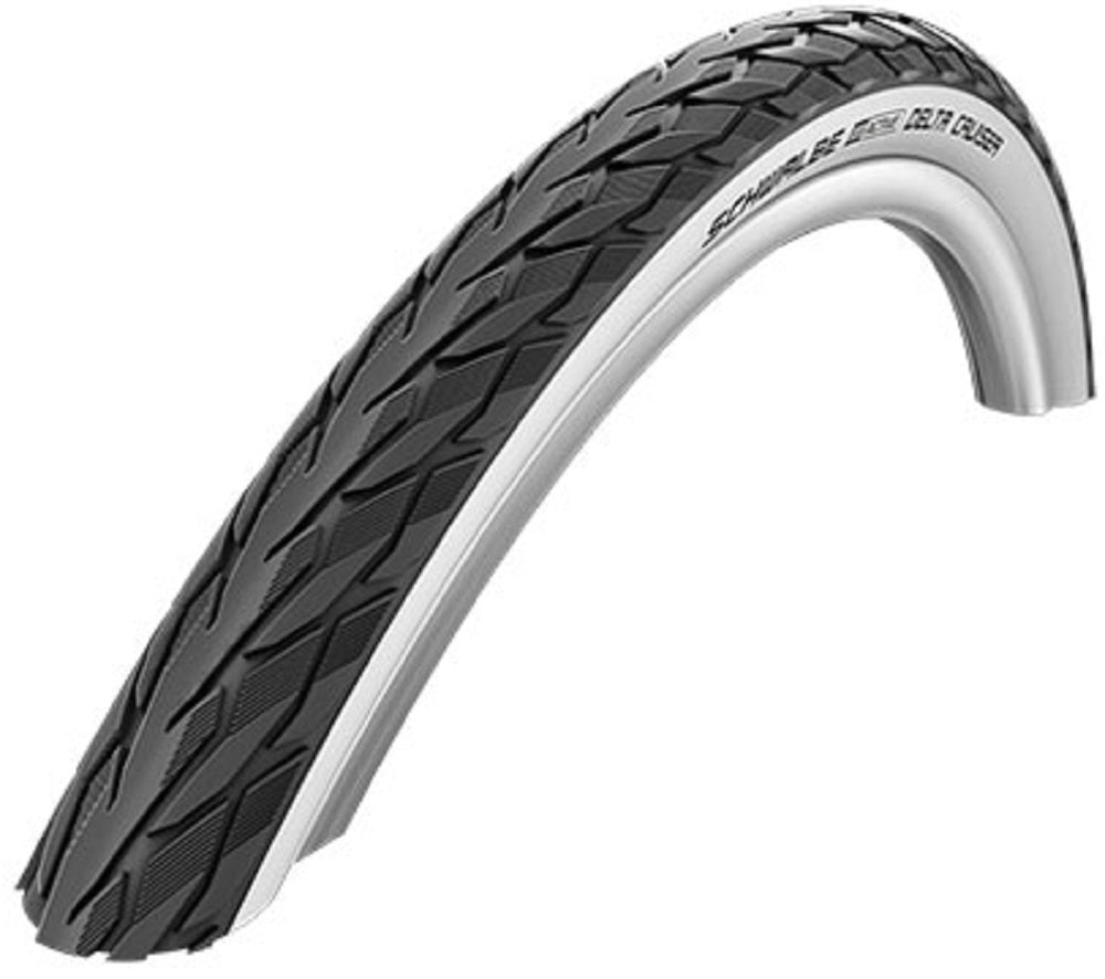 700 X 28c SCHWALBE DELTA CRUISER WHITE WALL Puncture Protection Bike //Cycle Tyre