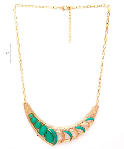 Pastel and Gold Assorted Necklace