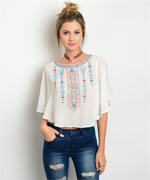 Aztec Inspired Blouse