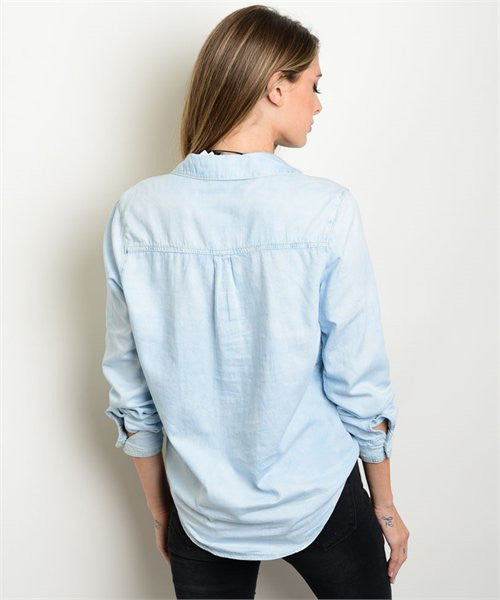 Denim Long Sleeve