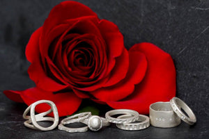 Rings from Saundra Messinger's 2019 Jewelry Collection