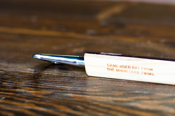Beer opener from Minnesota Twins Bat