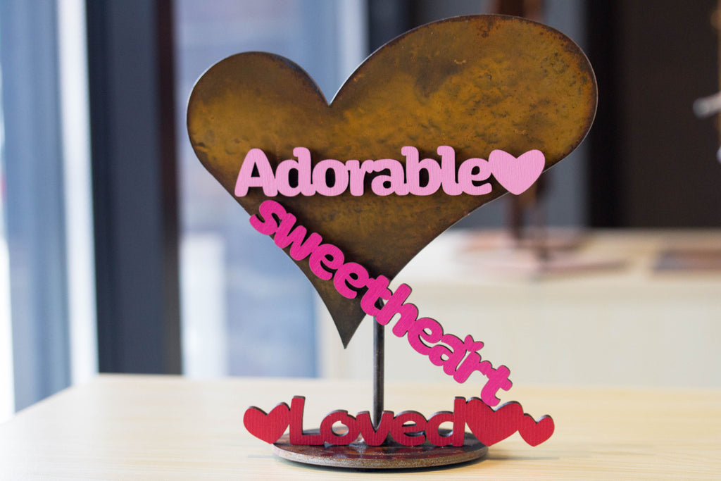 Collectible Heart and sweet word magnets
