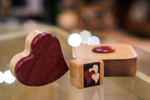 Puzzle Keepsake Boxes by Heartwood Creations
