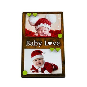 "Prairie Dance Proudly Handmade in South Dakota, USA ""Baby love"", Magnetic Frame"
