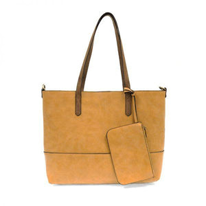 Joy Susan Dijon Brushed Tote