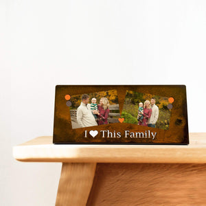 "Prairie Dance Proudly Handmade in South Dakota, USA ""I love this family"", Magnetic Frame"